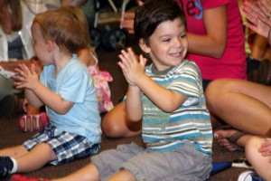 New Sing and Move Story Time at the Carnegie Library